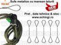 Dispozitive cablu ridicare cu mansoane stoc Bucuresti