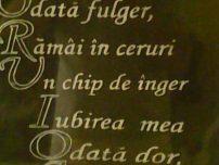 Scris pe marmura, granit
